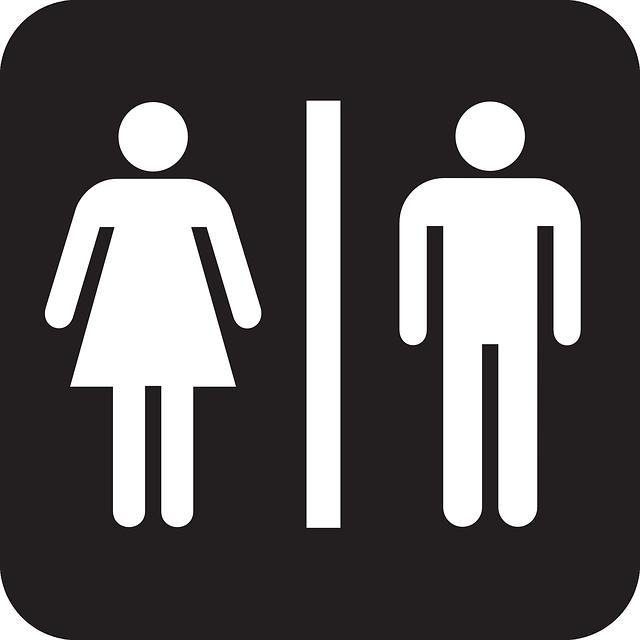 שלט שירותים